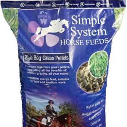 Simple System Blue Bag Grass Pellets