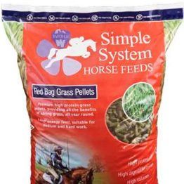 Simple System Red Bag Grass Pellets