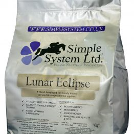 Simple System Horse Feeds Lunar Eclipse
