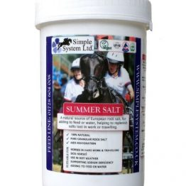 Simple System Horse Feed Summer Salt 2kg